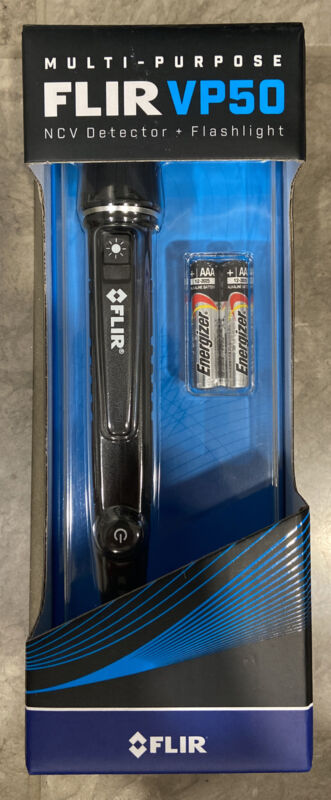 Flir Vp50 Non-Contact Voltage Detector, 24 To 1000V Ac, 90 To 1000V Ac, 6 In