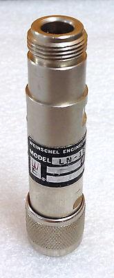Weinschel Ln-10 Dc To 1 Ghz 10 Db 1 Watt Type N M-f Coax Fixed Attenuator