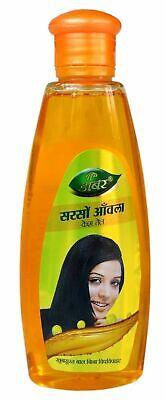 Dabur Sarso Amla Hair Oil Baya de la India Mostaza Pelo Fall...