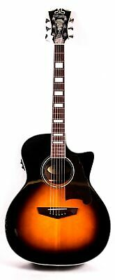 D'Angelico Premier Gramercy Acoustic-Electric Guitar Sunburst Blemish