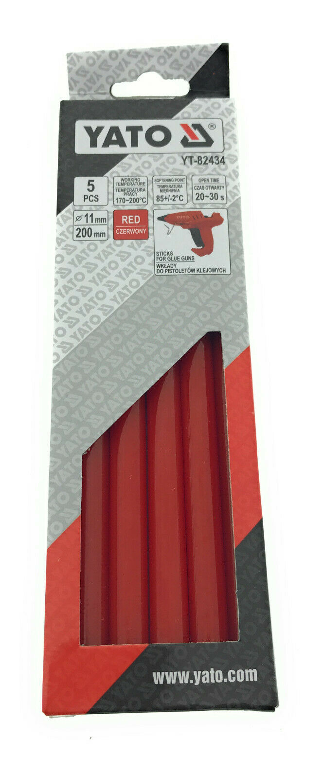 Heißklebesticks Heißklebepatronen Sticks Heißklebepistole Klebestifte 11mm Rot