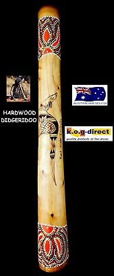 DIDGERIDOO BURNT HARDWOOD 60CM ABORIGINAL STYLE BEAUTIFULLY HAND PAINTED NEW ORG