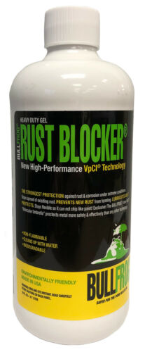 BullFrog 93896 Rust Blocker Heavy Duty Gel Protects Against Formation of Rust