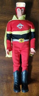 "Vintage 1977 Ideal Toy 16"" Electroman Action Figure Light Sound Works!"