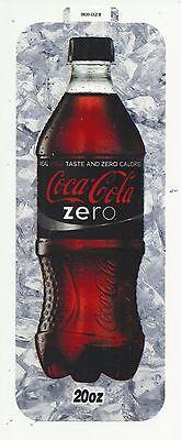 Coca-cola Machine Long Coke Zero Label Insert