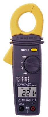 CENTER 221 Low Cost Mini Clamp Meter with Voltage and Continuity Functions new