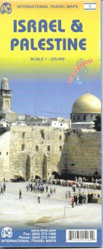 Map of Israel & Palestine, by ITMB, Printed on Waterproof Paper