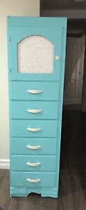 6 Drawer Tall Dresser with top storage