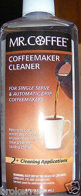 Liquid COFFEEMAKER CLEANER clean machine maker Mister MR mister COFFEE 061718
