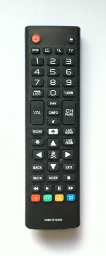 New Usbrmt Tv Remote Akb74915305 For Lg Smart Tv Akb75095330 Akb75095307