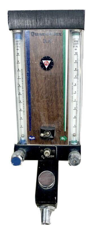Fraser Sweatman Inc Quantiflex RA Dental Nitrous Flowmeter Sedation Unit SN 3942