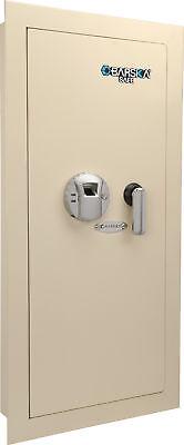 Barska Biometric Wall Safe W Fingerprint Lock Left Side Opening Ax12880