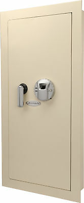 Barska Biometric Wall Hidden Safe Fingerprint Lock Security Box Ax12408
