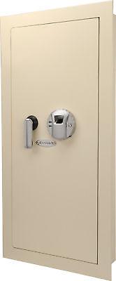 Barska Biometric Wall Hidden Safe Fingerprint Lock Security Box Ax12408