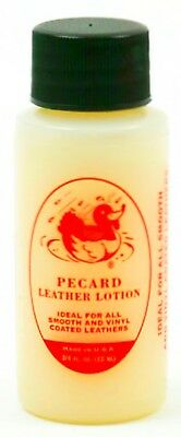 Classic LEATHER LOTION Small 3/4 oz Conditioner Cleaner Boots Shoes PECARD PLL1