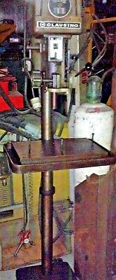 16 Clausing 1639 Floor Standing 6 Pedestal Drill Press 1.0 Hp 220440360