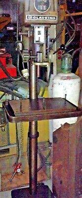 16 Clausing 1639 Floor Standing 6 Pedestal Drill Press 1.0 Hp 220440360