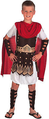 Gladiator Römer Kinder Karneval Fasching Kostüm 116-152 ()