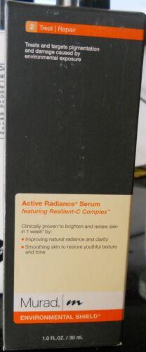 Murad Environmental Shield Advanced Active Radiance Serum 1oz/30ml New no Box