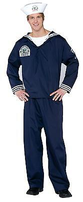 Military Dress Up Costumes (Navy Sailor Seaman Military Soldier Uniform Adult Costume With)