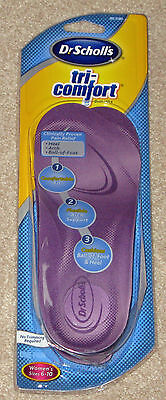 Dr. Scholl Tri-comfort Insoles Womens Sizes 6-10