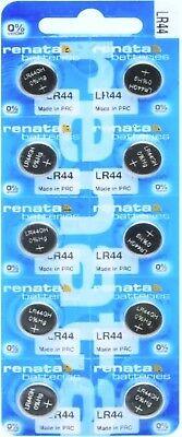 200 Renata LR44 AG13 357 357A A76 303 L1154 1.5 Volt Alkalin