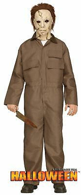 Halloween Mike Myers Costume Jumpsuit and Mask Horror Halloween Mens One Size