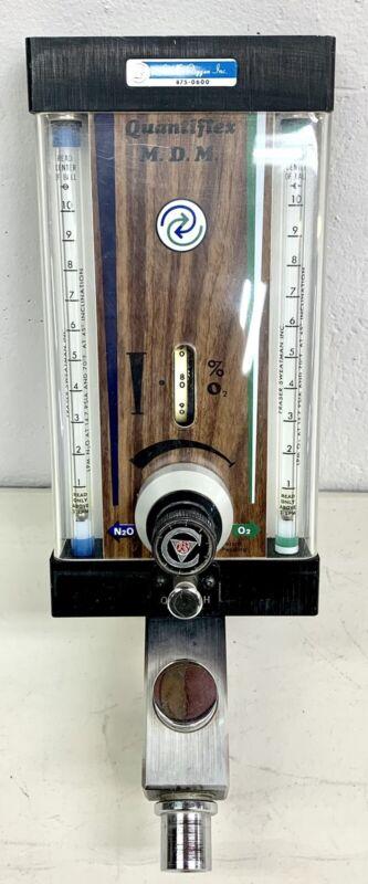 Fraser Sweatman Quantiflex MDM Dental Nitrous Flowmeter Sedation Unit SN 2603