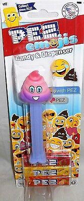 Pez Dispenser RAINBOW POOP PEZEMOJI  [Carded]   - Rainbow Poop