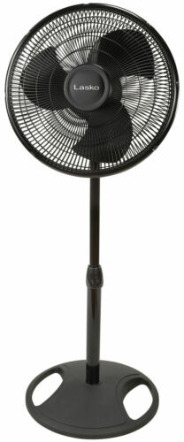 """Oscillating Pedestal Stand 16"""" Fan 3-Speed Home Room Air Cooler Cooling"""