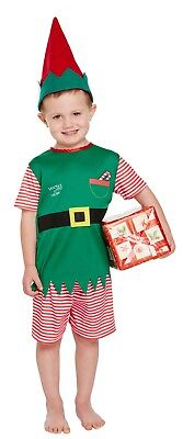 Kleinkinder Elfen Kostüm Santa Kleine Helfer Weihnachten Gnome Jungen 3 Jahre ()