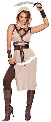 Desert Warrior Woman Adult Costume - Halloween Desert
