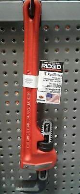 Ridgid 31025 Model Heavy-duty Straight Pipe Wrench18 Plumbing Wrench Cast