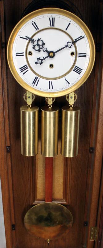 German Gustav Becker 3 Weight Grand Sonnerie Vienna Regulator Clock Movement Set