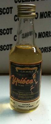 CACHAÇA YPIOCA 50ml 39% BRAZIL RHUM RUM cristal miniatura mignonette mini bottle