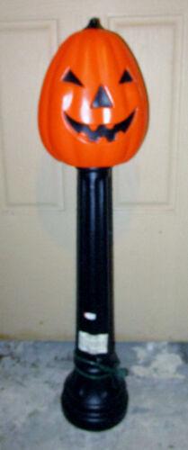 Halloween Pumpkin Lamp Post Blow Mold