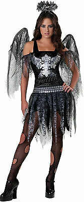 Teenage Girls Fallen Dark Angel Halloween Fancy Dress Costume Outfit 12-17 years - Dark Angel Outfits
