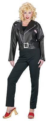 Grease Movie Cool Sandy Adult Womens Costume Black Theme Party Cool Halloween](Cool Women Halloween Costumes)