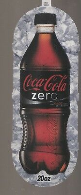 Coca-Cola Zero Vending Machine Sign