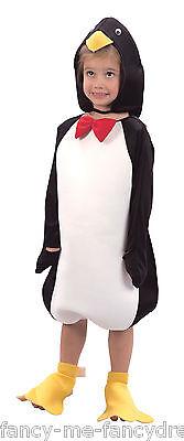 Mädchen Junge Kleinkind Weihnachts-Pinguin Tier Kostüm Kleid Outfit 2-3 J