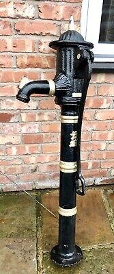Genuine Original Antique Cast Iron Garden Pump Garden Feature Well Pump