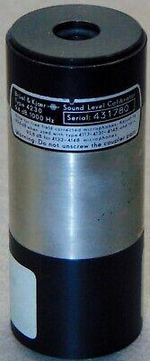 Bruel Kjaer 4230 94db 1000hz Sound Level Calibrator