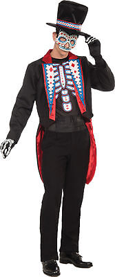 Day Of The Dead Themed Halloween Party (Day of the Dead Male Adult Costume Scary Mexico Festival  Theme Party)