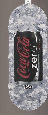 Coca-Cola Zero 12 oz Can Vending Machine Sign