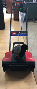 Toro Power Curve 1800 electric snow thrower w/ Ext cord