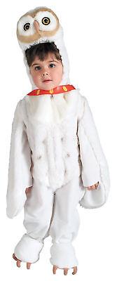 Harry Potter Hedwig The Owl Child Costume Plush Jumpsuit Halloween Fancy Dress