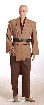 Star Wars Obi-Wan Kenobi Jedi TUNIC Costume New Simple Version in Standard Size (Obi Wan Kenobi Costumes)