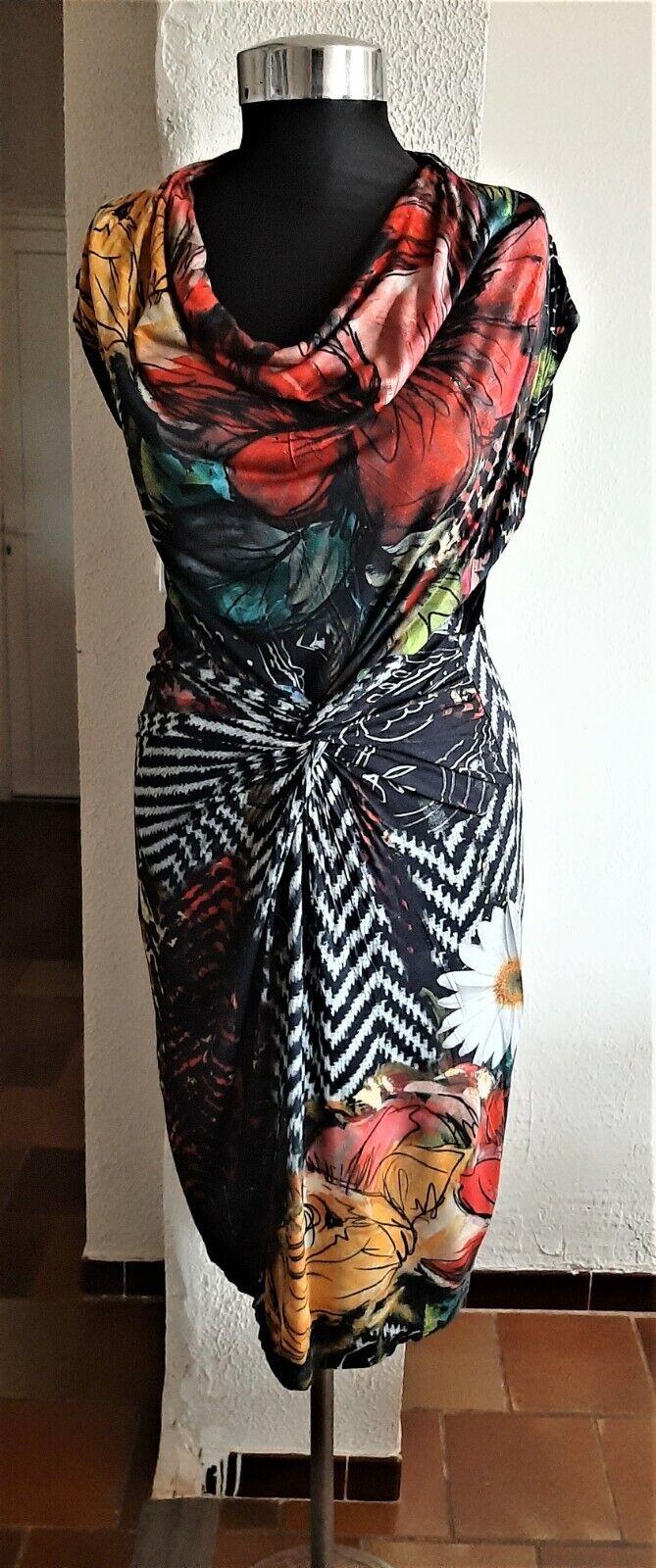 robe desigual femme taille m multicouleur en parfait état