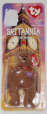 TY Beanie Baby BRITANNIA The Bear~ NIB Ronald McDonald House charity   on Rummage