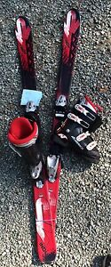 K2 Indy skis and Norton boots like new